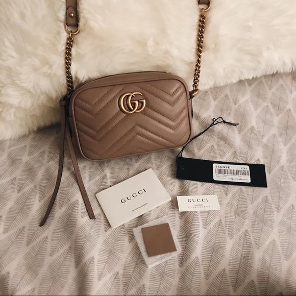 a542ff3ae65d Gucci Bags | Gg Marmont Mini Matelasse Camera Bag | Poshmark